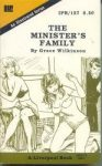 The Minister's Family by Grace Wilkinson